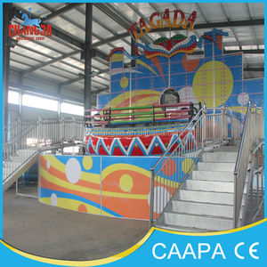 Exciting experience ! Funfair amusement rides 16 seats musical disco tagada ride