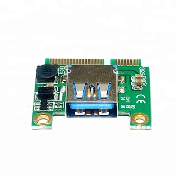 Mini PCIe PCI express to USB 2.0 adapter usb to mini pcie converter card