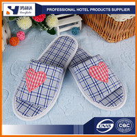 Hotel bedroom slippers or soft house shoes slippers