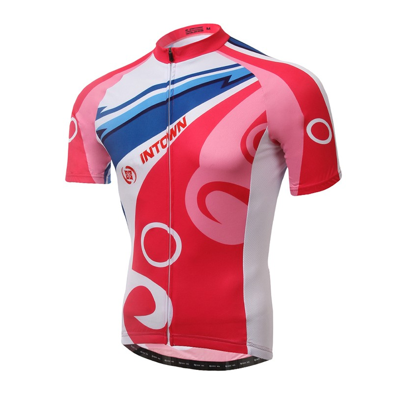 Custom Sublimation Women's Mountain Bike Cycling Jersey Shorts sleeves
