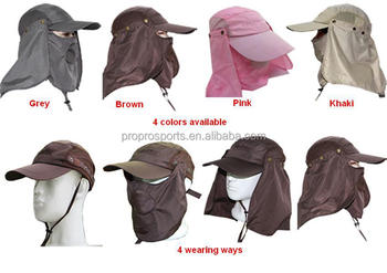 e30bf51468f Multi-function Hat With 360 Degree Full Protection Sun Hat For Fishing  Hiking Garden Work