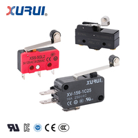 Roller Lever type micro switch , Electronic micro switch 125V 16A (UL TUV CE)