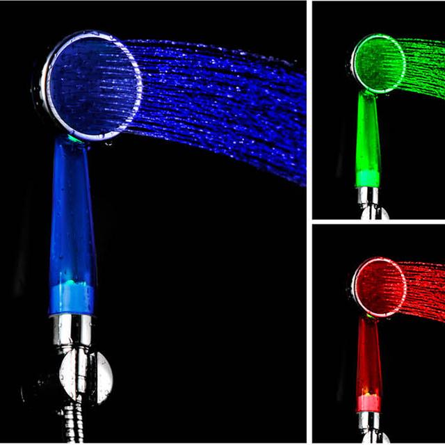 Luxury LED Hand Shower LED Lighting Shower Head For Bathroom