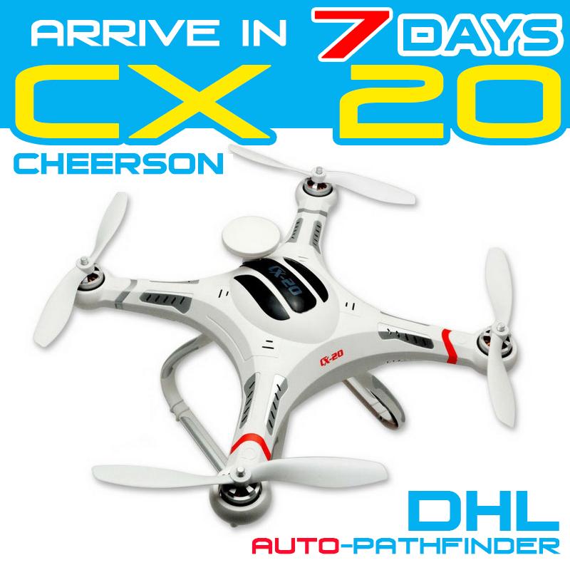 Cheerson CX-20 CX20 Auto-Pathfinder RC Quadcopter With GPS RTF