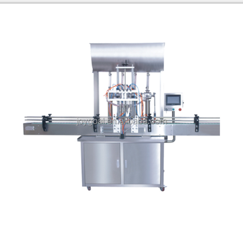 Automatic and high efficiency apple sauce bottle filling capping machine with low price