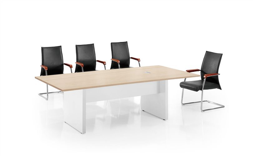 cf office small meeting table design 25mm thickness for 8 person