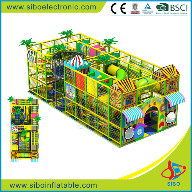GM- SiBo Cheer Amusement soft play manufacturers in china indoor playground equipment