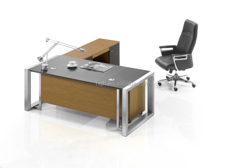 Dt 11 Modern New Design Office Desk Frame Table Executive Stainless Steel