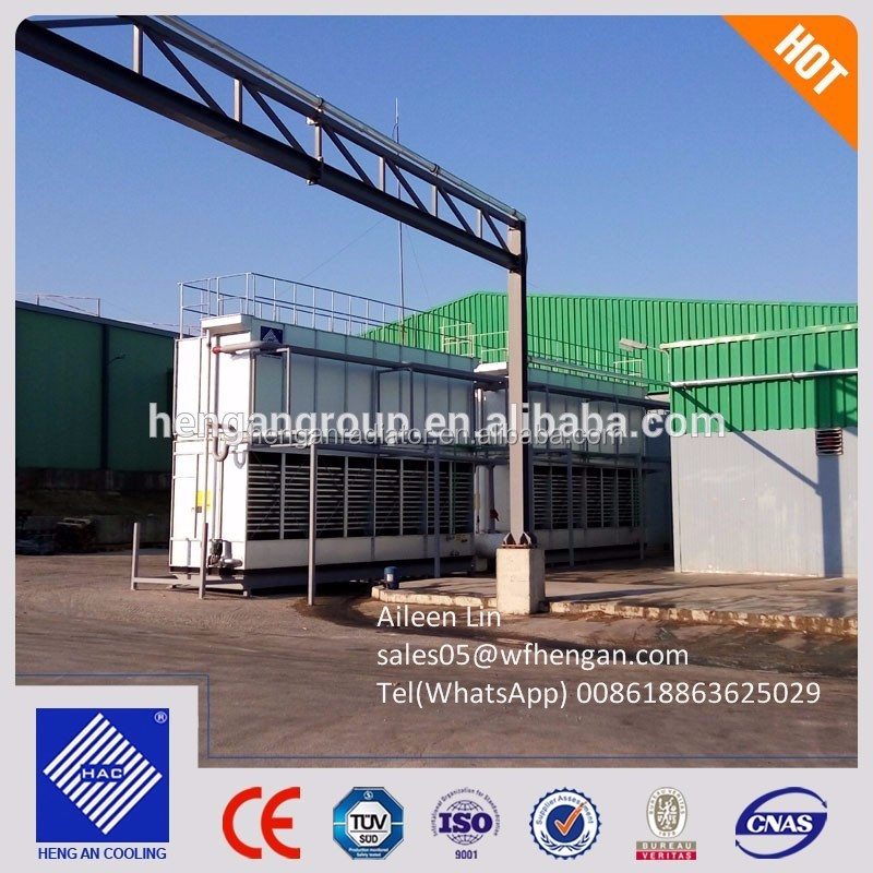 2017 Hot sale mixed flow/counter flow ammonia Evaporative condenser price