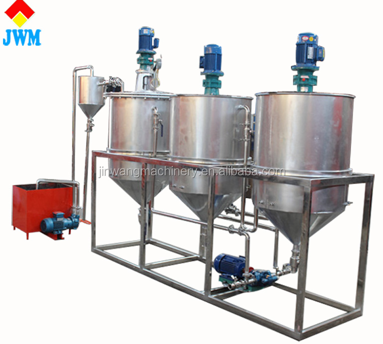 High oil yield oil refinery machine/mini oil refining plant from China