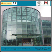 Building glass and facade commercial project supplier