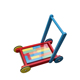 China Oem Colorful New Model Rolling Wooden Baby Walker