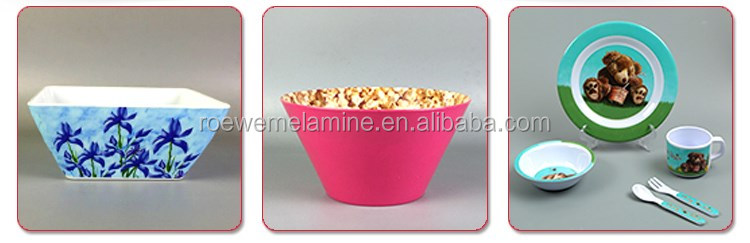 Food Safty BPA Free Cartoon Design Melamine Cup
