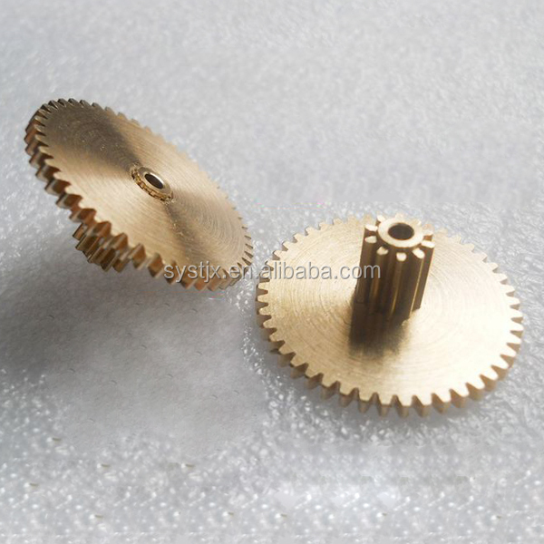 Small metal brass copper material gear