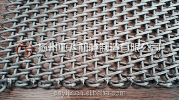 Metal Rod Reinforced Belt with Welded Edges