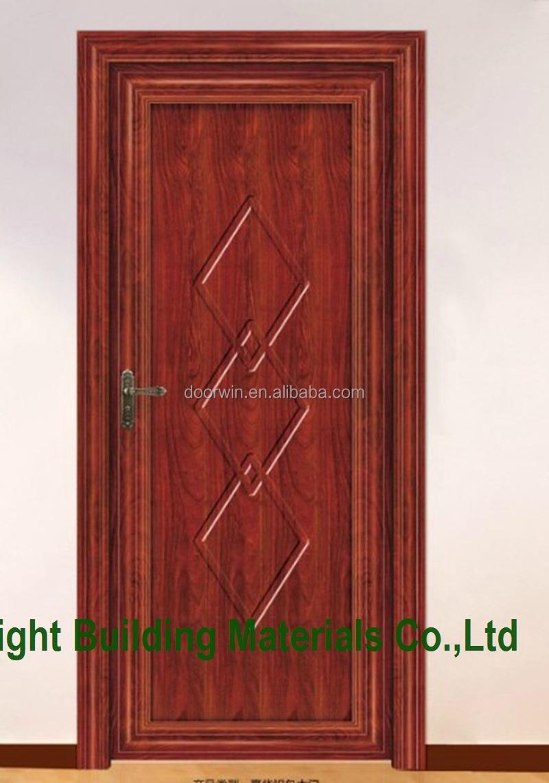 New design interior solid wooden single door designs for New single door design