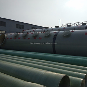 high quality FRP glass oil GRP pipe