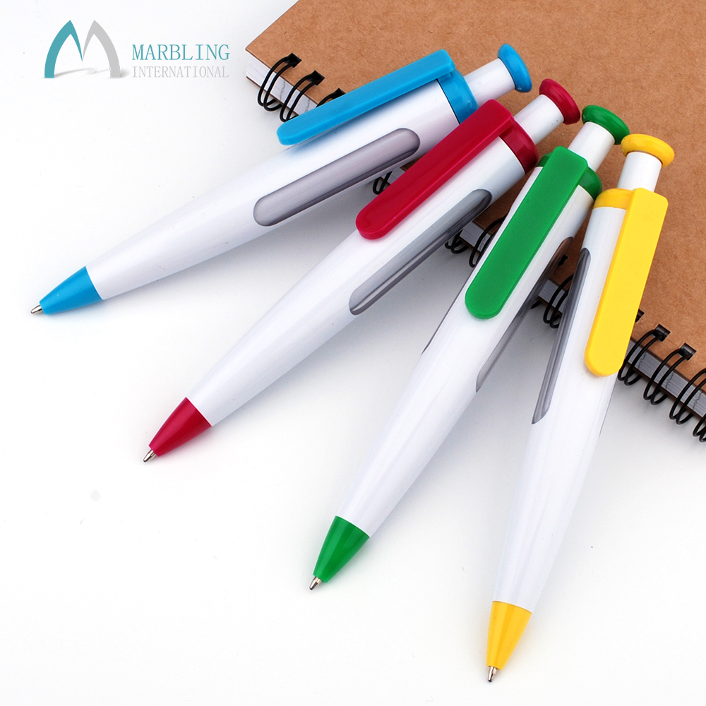 Marbling Plastic Scrolling Big 6 Message Pen Change Picture Pen Advertising Pen With logo MPL915