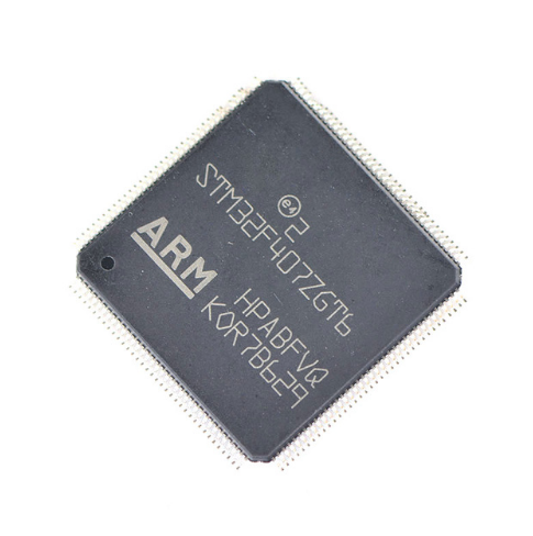 Original genuine chip LQFP144 STM32F407ZGT6 microcontrollers 32-bit Ethernet MAC ARM ic replacement machine