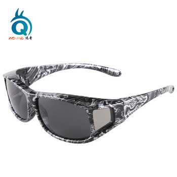 DY007 Outdoor UV polarized lens Protective safety sunglasses fit over myopia sunglasses wholesale