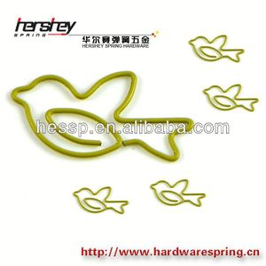 decorative metal clips special bird shaped paper clips fancy paper clips on sale