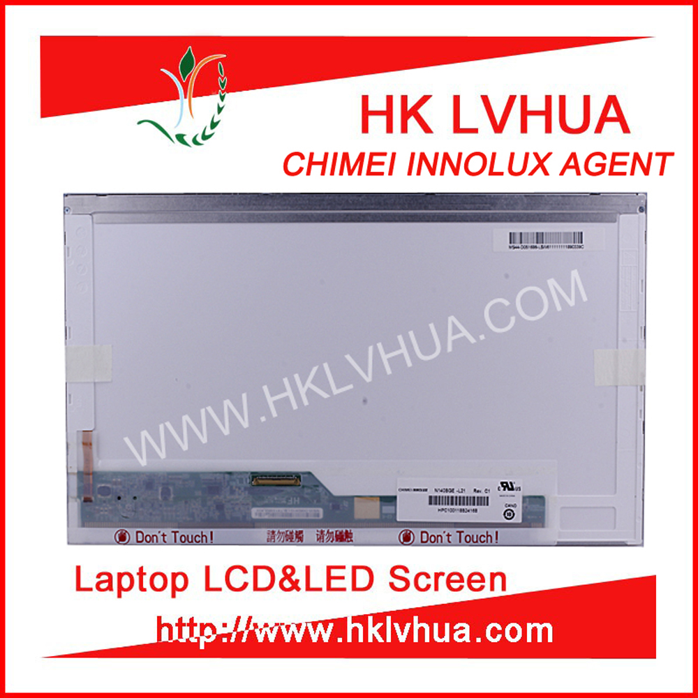 N140BGE-L21 B140XW01 V.8 LP140WH4 TLA2 led monitor 14.0 refurbished lcd screen FOR DELL INSPIRON laptop