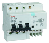 DZ47LE residual current rccb and rcbo