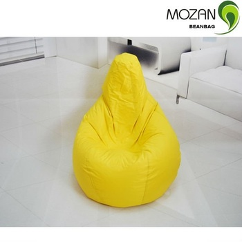 Heated Tear Drop Shape Bean Bag Chairs Removable Covers