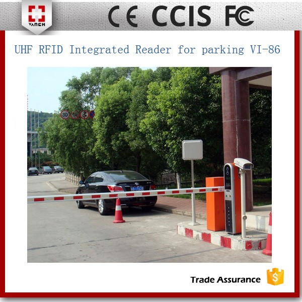 long distance uhf outdoor rfid reader for vehicle tracking