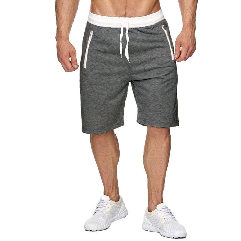 Joshua Sanchez Men Bodybuilding Fitness Gyms Basketball Running Workout Jogger Shorts 1 M