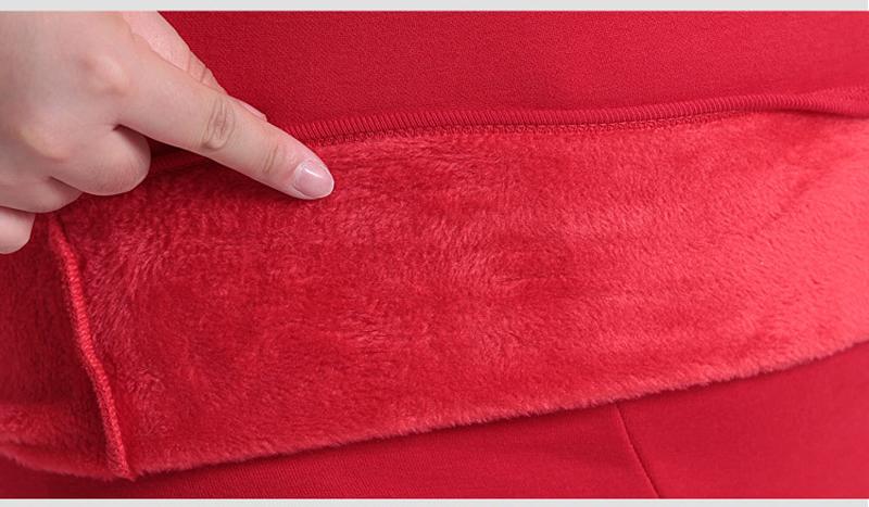 quente algodão roupa interior térmica define tamanho