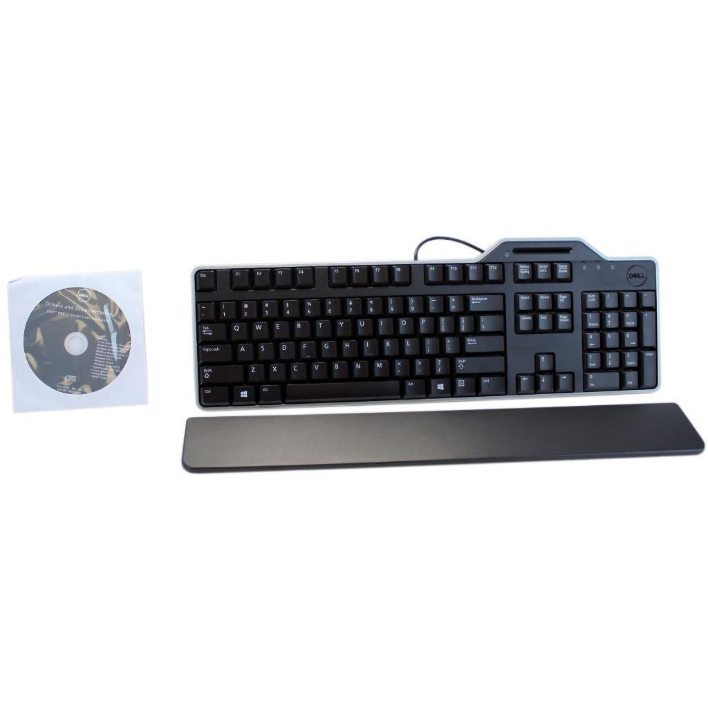 dell smart card reader keyboard not working