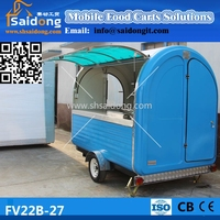 Stainless Steel Durable Food Cart-mobile Food Truck-fast Food ...