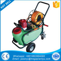 high pressure agricultural sprayer/hand push gasoline engine power sprayer