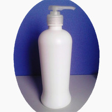 1000ml White Disposable Lotion Packaging/ Plastic Shampoo Gel Bottle with Pump