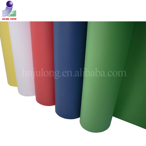 250g China wholesale color cardboard paper manila paper for greeting card/binding cover/file folder
