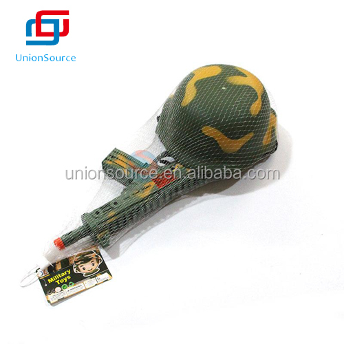 Military Cap+Toy Gun Set for Sale