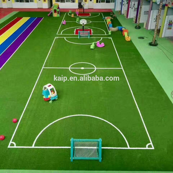 CE Certification Artificial Turf Price For Playground Soccer