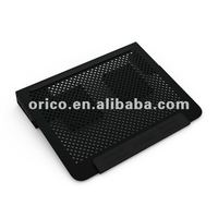 2012 newest All aluminum14inch laptop cooling pad with usb port