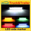 Auto accessory 12v/24v led side marker light side marker lamp with facyory price