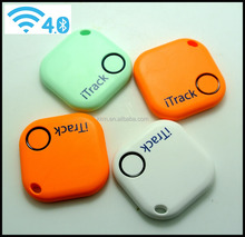 Custom Logo Printing Smart Bluetooth GPS Tracker Belongs Locator Key Finding Tag Reminder