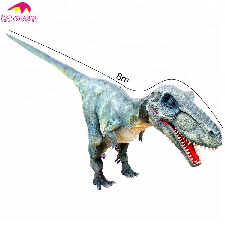 KANO-159 Customized Amazing 8M Hidden Leg Giant T-rex Costume