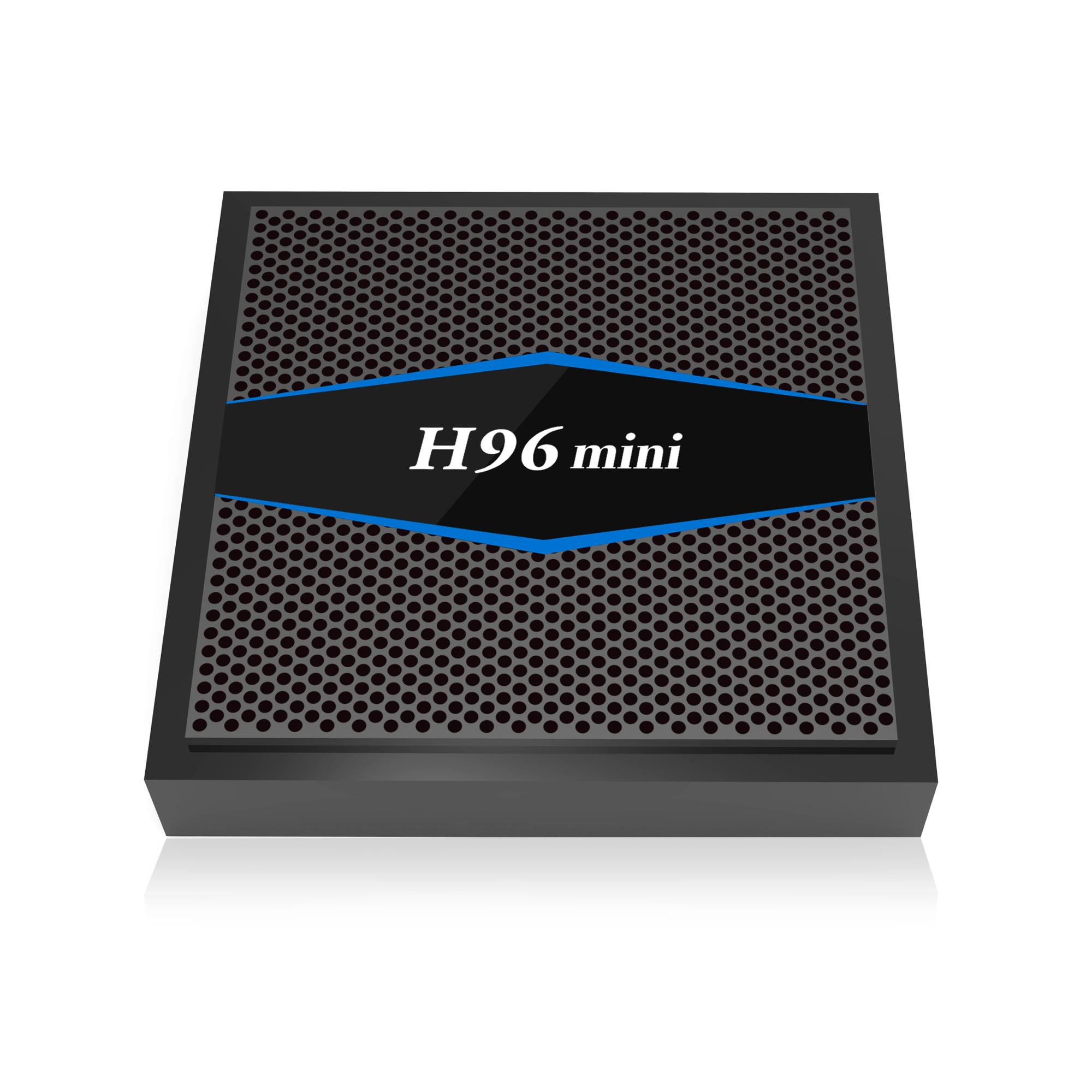 Custom H96 mini tv streaming 2 GB 16 GB amlogic s905w correo 450 internet ott tv box para UHD 4 K tv 3D