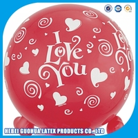 High Quality Valentine's day Party decoration 10 inch Latex Balloon