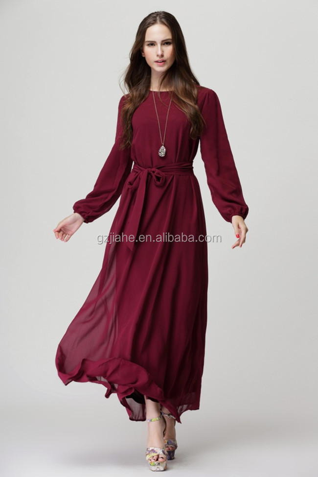 Simple Formal Dresses with Sleeves