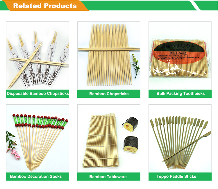 Eco-friendly Customized Bamboo Wooden Toothpick