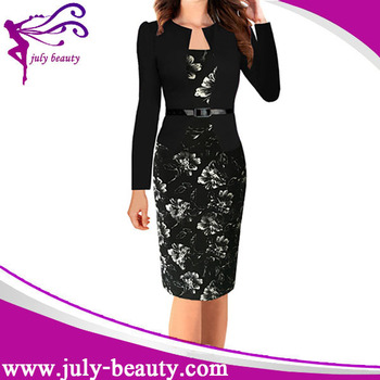 Wholesale Clothing Formal Office Dress for Women