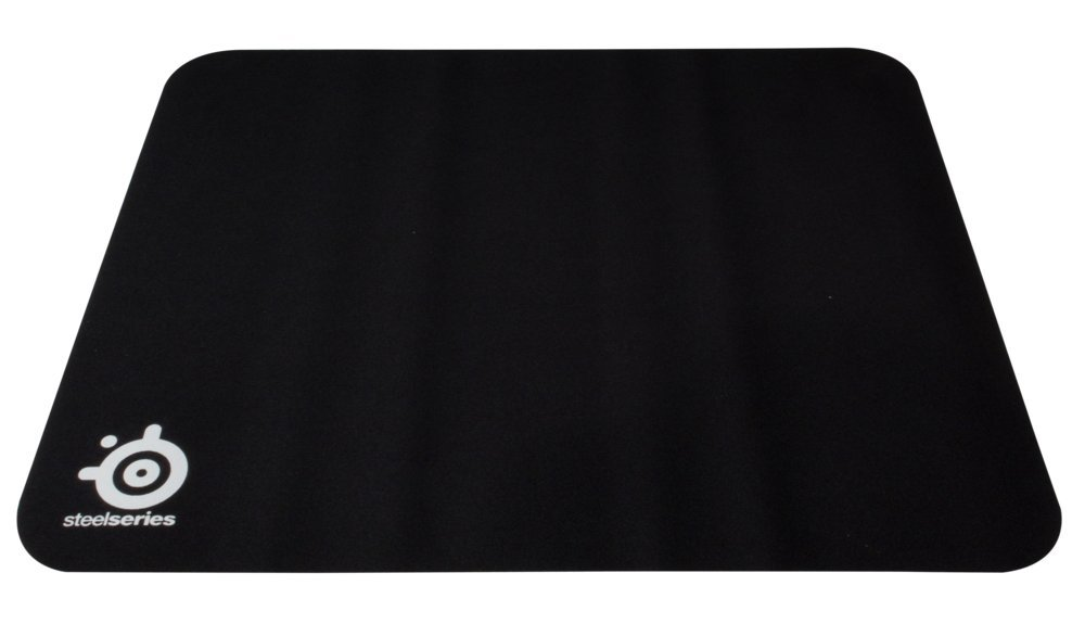 SteelSeries QcK Heavy Cloth Gaming Mouse Pad - Extra Thick Nonslip Rubber Base for Improved Tracking and Stability - Size M