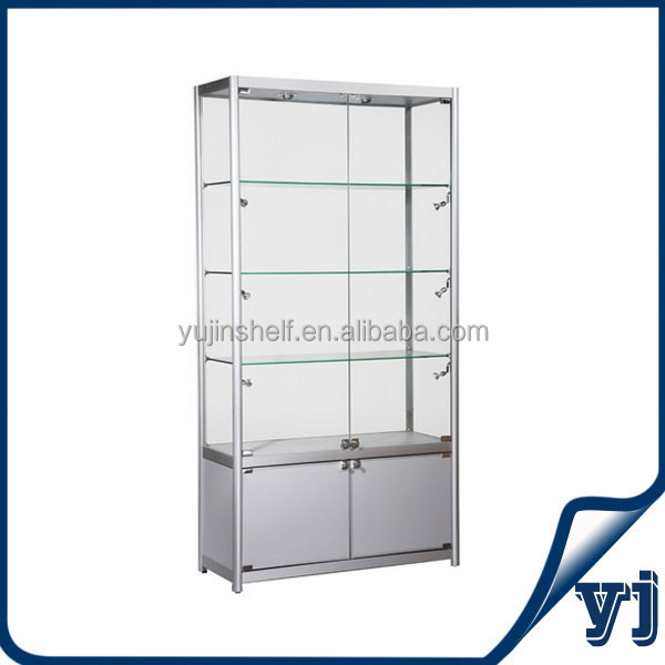 Direct Factory Selling Glass Display Showcase/glass Cabinet/glass Display  Case With Cheap Price