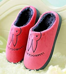 Cute Cartoon Children Men's /Women's Slippers Autumn and winter thick home warm cotton slippers /plush slippers /Anti-skid Home House Slippers Fashion Travel Couples Kid gift Slippers